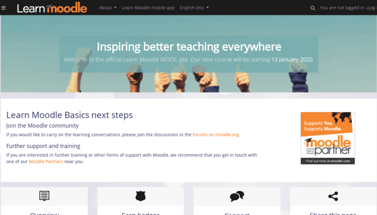 دوره آموزشی «تدریس با مودل» نسخه 3.8